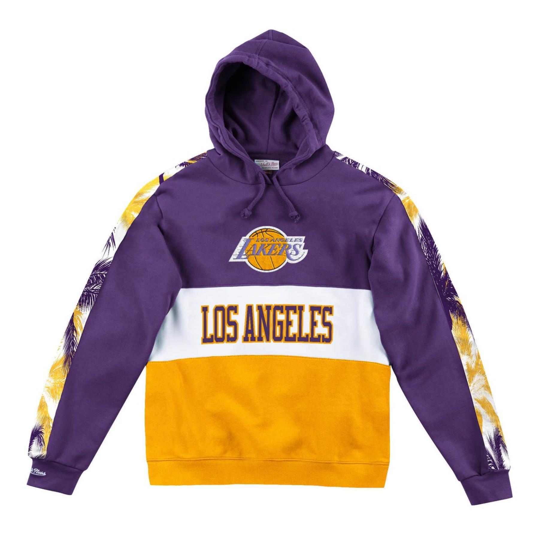 Felpa con cappuccio Los Angeles Lakers leading scorer
