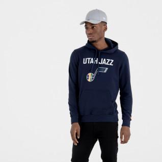 Felpa con cappuccio New Era avec logo de l'équipe Uath Jazz