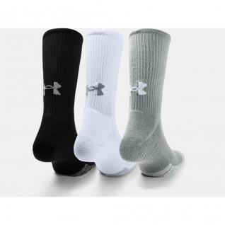 Confezione da 3 paia di calze alte Under Armour HeatGear® Crew