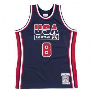 Maglia della squadra autentica USA nba Scottie Pippen