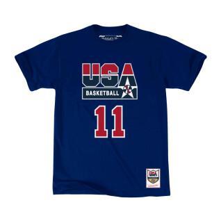 Maglietta USA name & number Karl Malone