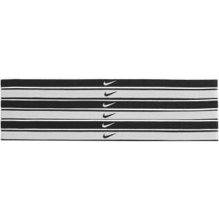 Confezione da 6 elastici per capelli Nike Swoosh tipped
