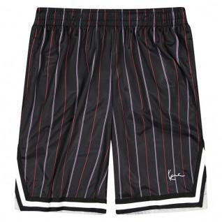 Pantaloncini Karl Kani Small Signature Pinstripe Mesh
