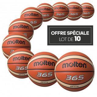 Confezione da 10 palle da allenamento Molten BGHX