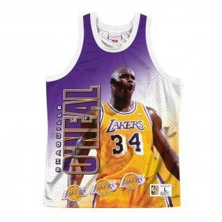 Jersey Los Angeles Lakers behind the back