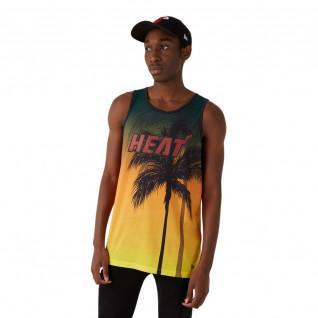 Canotta New Era NBA Miami Heat Aop summer city